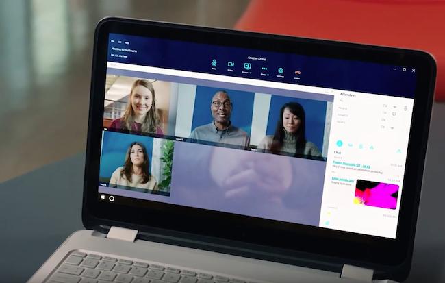Photo de Amazon lance Chime pour contrer Skype Entreprise
