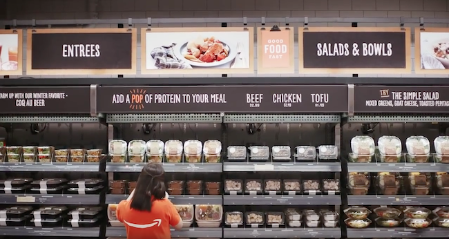 Photo de L'épicerie connectée d'Amazon ne nécessitera que trois employés
