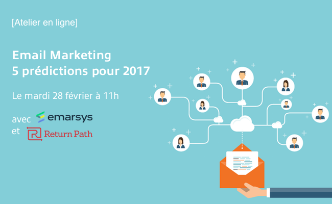 Photo de [Atelier en ligne] Email Marketing: 5 prédictions pour 2017
