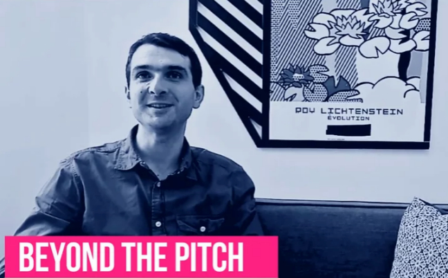 Photo de BeyondThePitch : Armand Thiberge, fondateur et CEO de SendinBlue