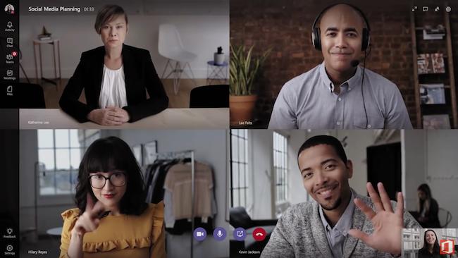 Photo de Avec Teams, Microsoft veut riposter à Slack