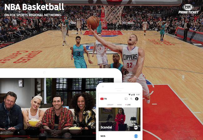 Photo de Face au câble, YouTube lance son bouquet TV en streaming aux États-Unis