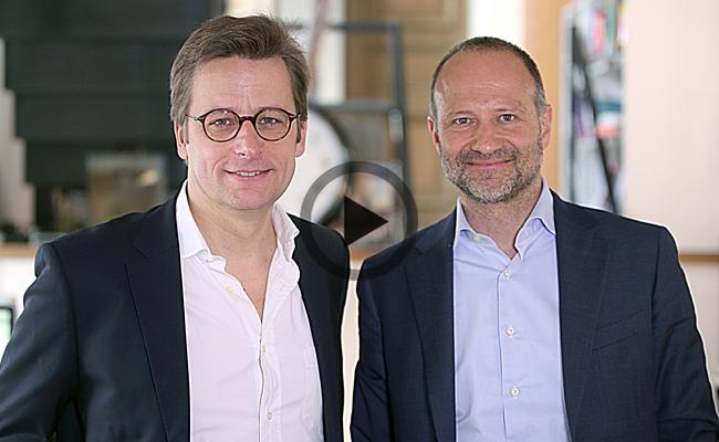 Photo de Le Débrief de la semaine avec Rolf Heinz (Prisma Media) et Emery Doligé (Brutus TV)