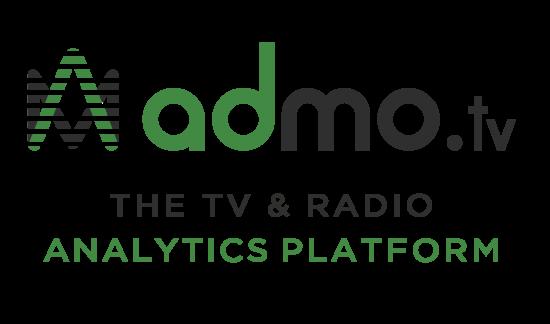 logo Admo.tv avec baseline