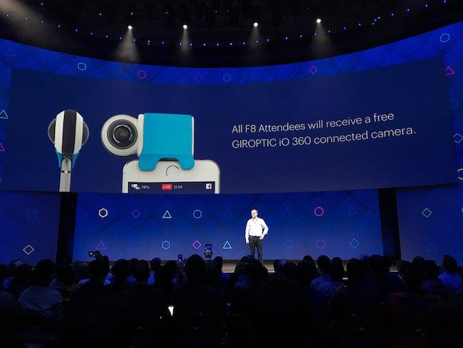 Photo de Conférence F8: Facebook veut imposer la réalité augmentée dans le quotidien de ses utilisateurs