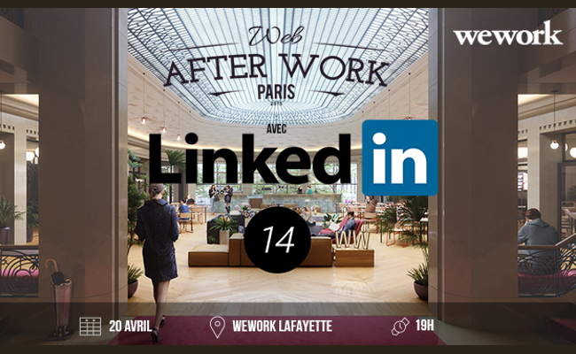 Photo de Web After Work #14 avec Fabienne Arata, Country manager de LinkedIn France
