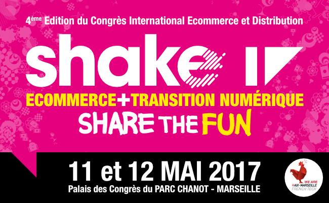 Photo de #shake17, le congrès qui secoue le commerce et le numérique!