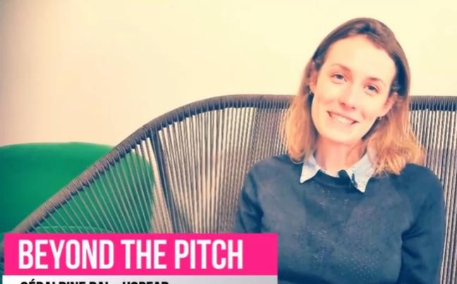 Photo de BeyondThePitch: Géraldine Bal, fondatrice de Hopfab