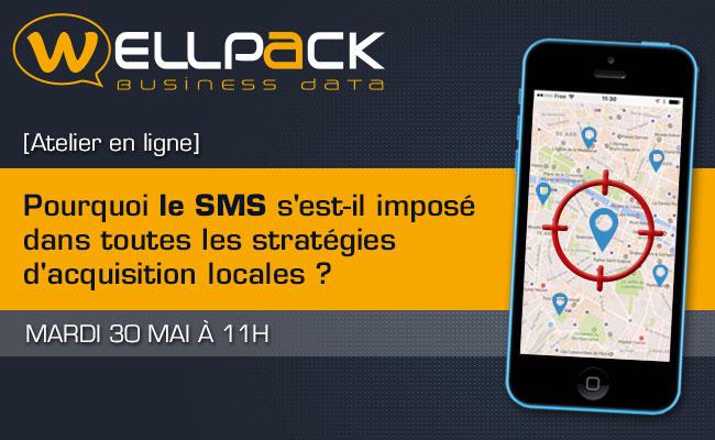 Photo de [Atelier en ligne] Pourquoi le SMS s'est-il imposé dans toutes les stratégies d'acquisition locales?