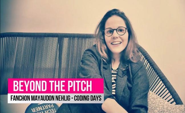 Photo de BeyondThePitch: Fanchon Mayaudon Nehlig, cofondatrice de Coding Days
