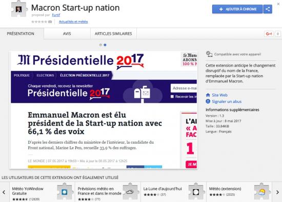 Macron Chrome