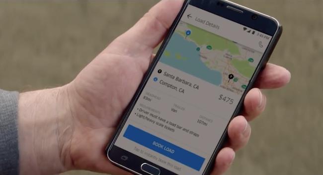 Photo de Avec son offre Freight, Uber fait son entrée sur le marché du transport de marchandises