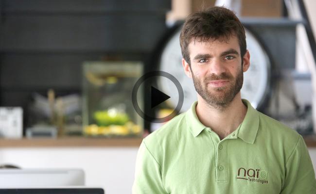 Photo de Pour Naïo Technologies, la robotique fait partie de l'avenir de l'agriculture