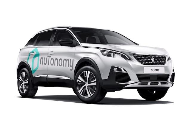 nuTonomy - Peugeot