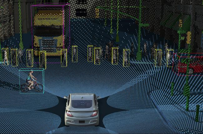 Photo de AEye, 16 millions de dollars pour améliorer les capteurs LiDAR des voitures autonomes