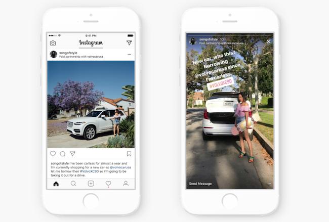 Photo de Instagram lance une fonctionnalité pour mettre fin aux publications sponsorisées déguisées