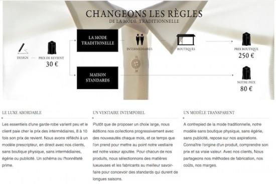 Maison Standards concept