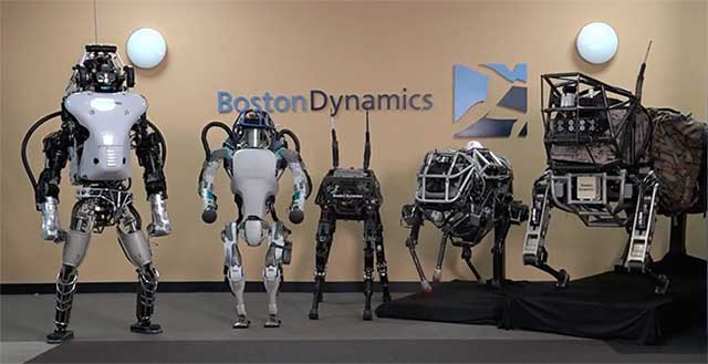 Photo de Google cède Boston Robotics à SoftBank