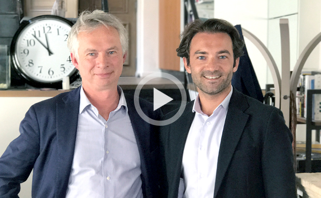 Photo de Le Débrief de la semaine avec Guillaume de Roquemaurel (Artefact) et Hervé Simonin (Linkfluence)