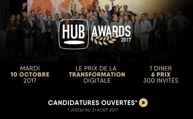 Photo de Le HUB Institute organise la 7ème édition des HUB AWARDS, le prix de la transformation digitale