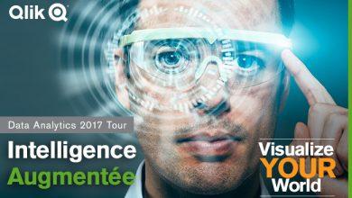 Photo de Qlik Visualize Your World «Intelligence Augmentée : la Data à l'ère de l'IA»