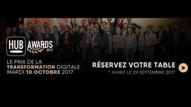 Photo de Réservez votre place pour le dîner des HUB Awards