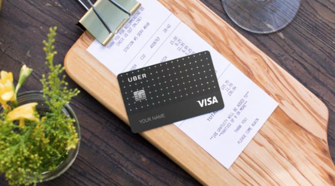 Une carte de crédit pour les utilisateurs — Uber