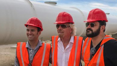 Photo de Virgin Hyperloop One lève 50 millions de dollars, Richard Branson devient président
