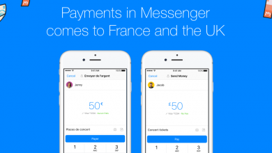 Photo de Facebook Messenger propose désormais le transfert d'argent entre amis en France
