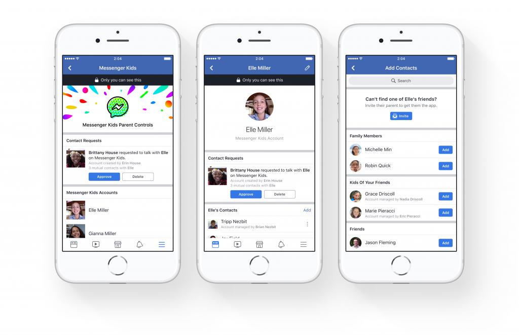 Facebook lance l'application Messenger Kids pour enfants