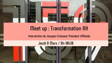 Photo de Meet up : Les enjeux de la transformation RH avec Jacques Froissant, Altaïde
