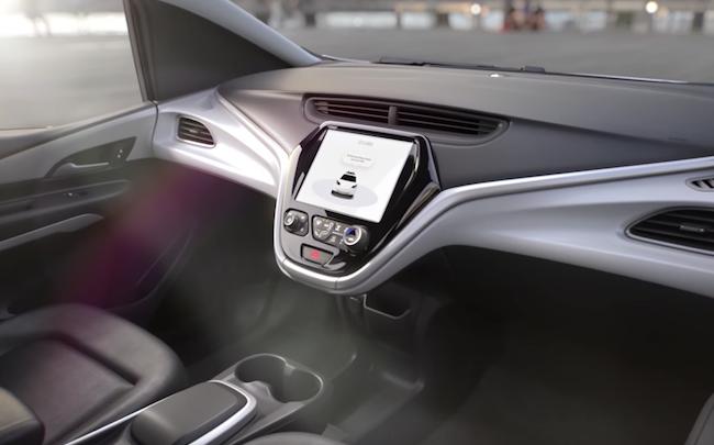 Un Cruise-AV sans volant ni pédales — General Motors