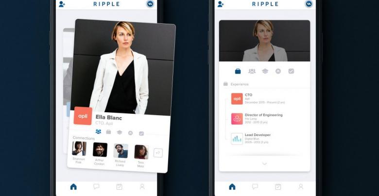 Ripple, l'application de networking qui s'inspire de Tinder