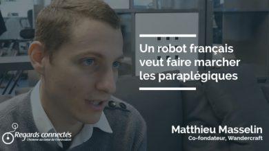 Photo de Un robot français veut faire marcher les paraplégiques