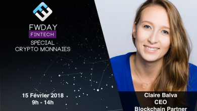 Photo de [FWDAY FINTECH] Le Q&A spécial crypto de Claire Balva, CEO de Blockchain Partner