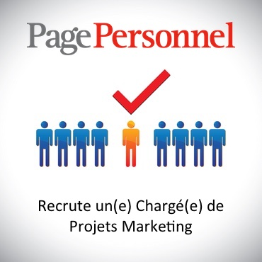 PagePersonnel Recherche Charge Projets Marketing