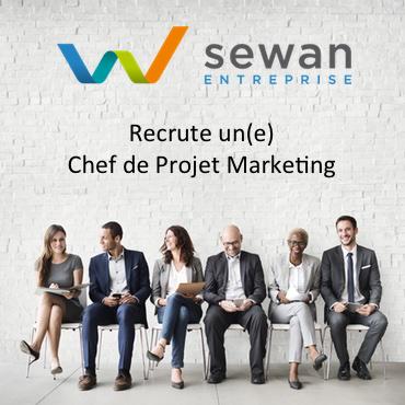 Sewan Recrute Chef de Projet Marketing