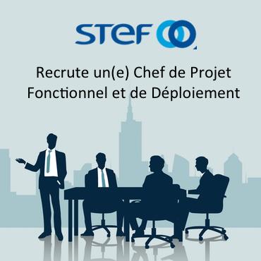 Stef Recrute Chef Projet Fonctionnel Deploiement