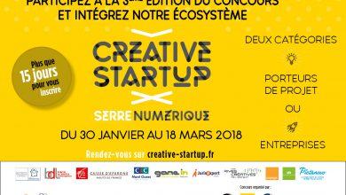Photo de Troisième édition du concours CREATIVE STARTUP
