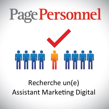 PagePersonnel recherche Assistant Marketing Digital