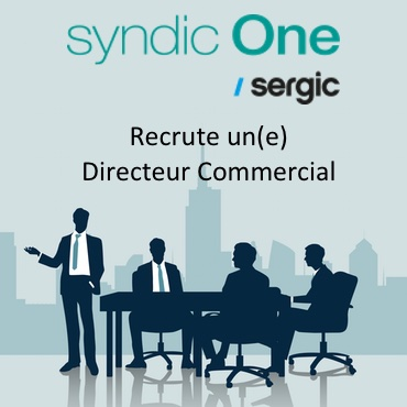 Syndic One recrute Directeur Commercial