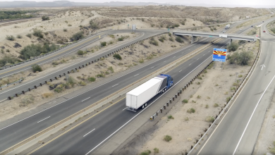 Photo de Les camions autonomes d'Uber entrent en service pour transporter des marchandises