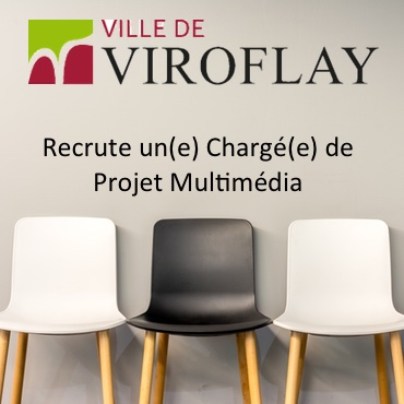 Viroflay recrute Charge de Projet Multimedia