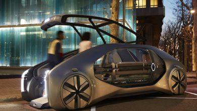Photo de A Genève, Renault dévoile EZ-GO, son robot-taxi autonome et partagé