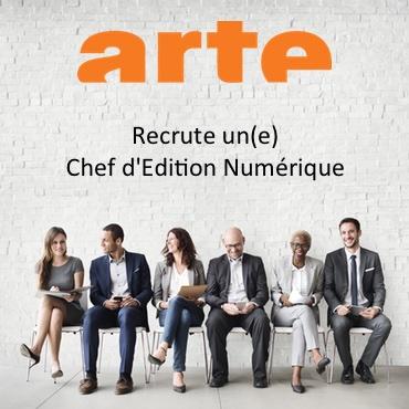 Arte recrute Charge Edition Numerique