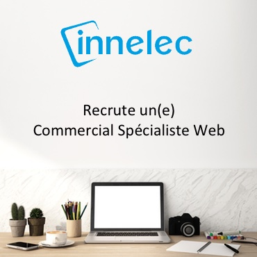Innelec Recrute Commercial Specialiste Web