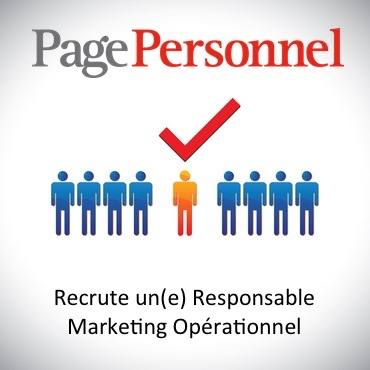 PagePersonnel Recrute Responsable Marketing Opérationel