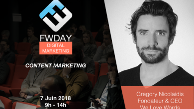 Photo de [FWDAY Digital Marketing] Le Q&A de Gregory Nicolaidis, fondateur de You Love Words