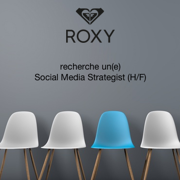 Boardriders Inc recherche un Roxy Social Media Strategist