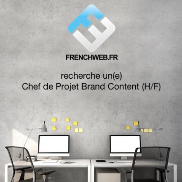 FrenchWeb recherche un Chef de projet Brand Content